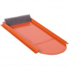 Metalldachplatte Typ Biber Vario, rot