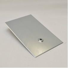Metalldachplatte Typ Schiefer 250x380, verzinkt