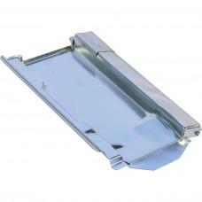Metalldachplatte Typ Ex Ton 260, braun